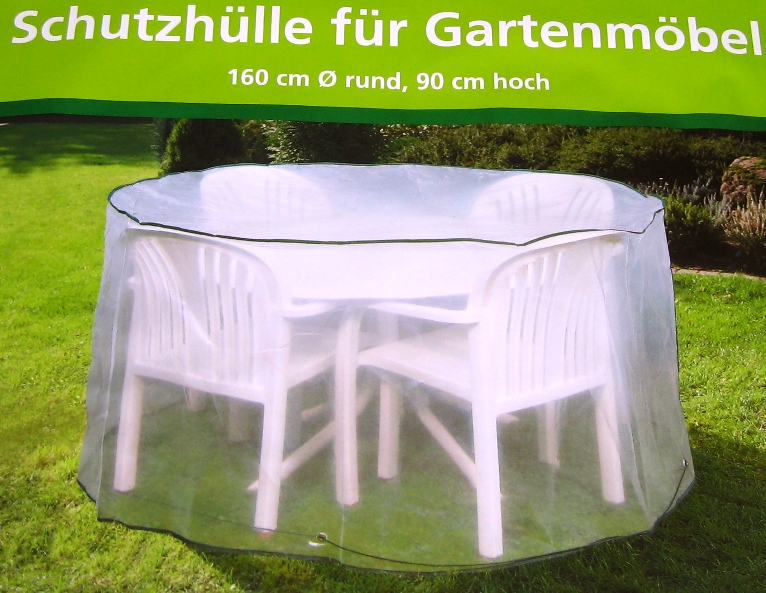 schutzh lle f r gartenm bel 160 x 90 cm rund abdeckplane gartenm belh lle neu ebay. Black Bedroom Furniture Sets. Home Design Ideas