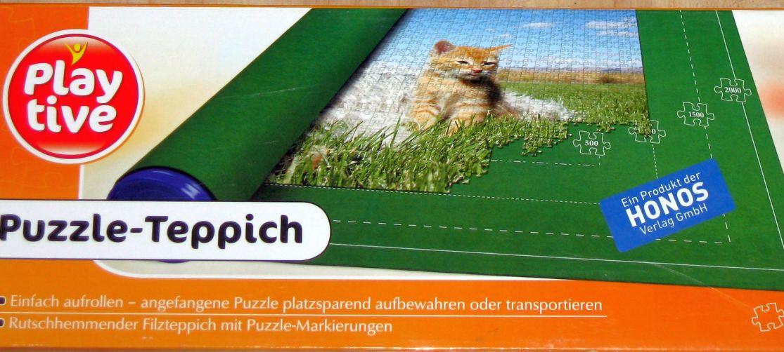 Großer Puzzle Teppich für bis zu 2000 Teile Puzzlematte