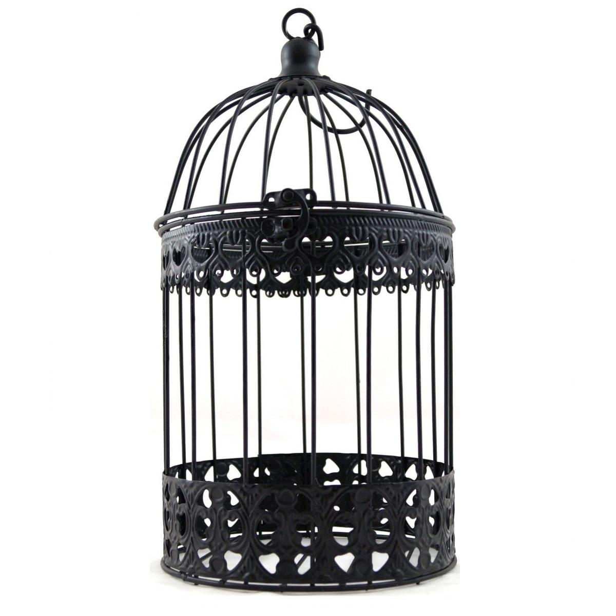 deko vogelk fig vogel k fig metall shabby look schwarz neu ebay. Black Bedroom Furniture Sets. Home Design Ideas