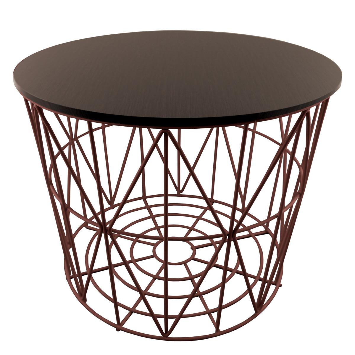 PrimoLiving Design Drahtkörbe in 4 Größen Drahtkorb Tisch Korb mit ...