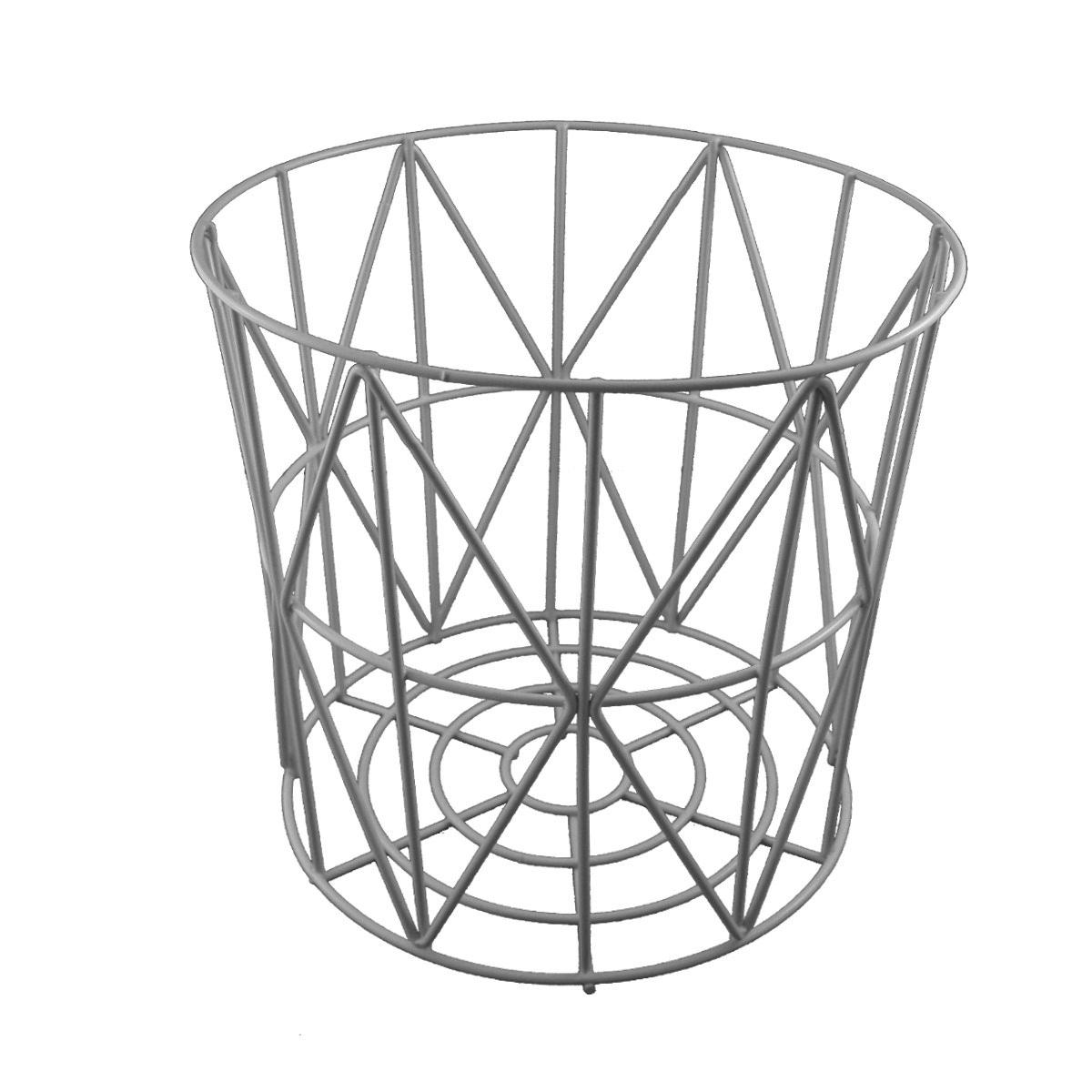 primoliving design drahtk rbe in 4 gr en drahtkorb tisch korb mit deckel grau ebay. Black Bedroom Furniture Sets. Home Design Ideas